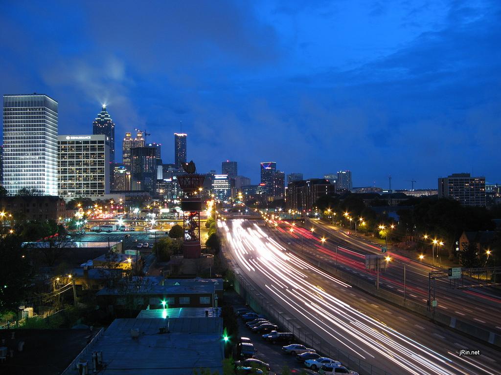 Atlanta, Džordžijas štats – vakarā