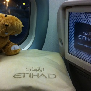 Etihad Airways salonā