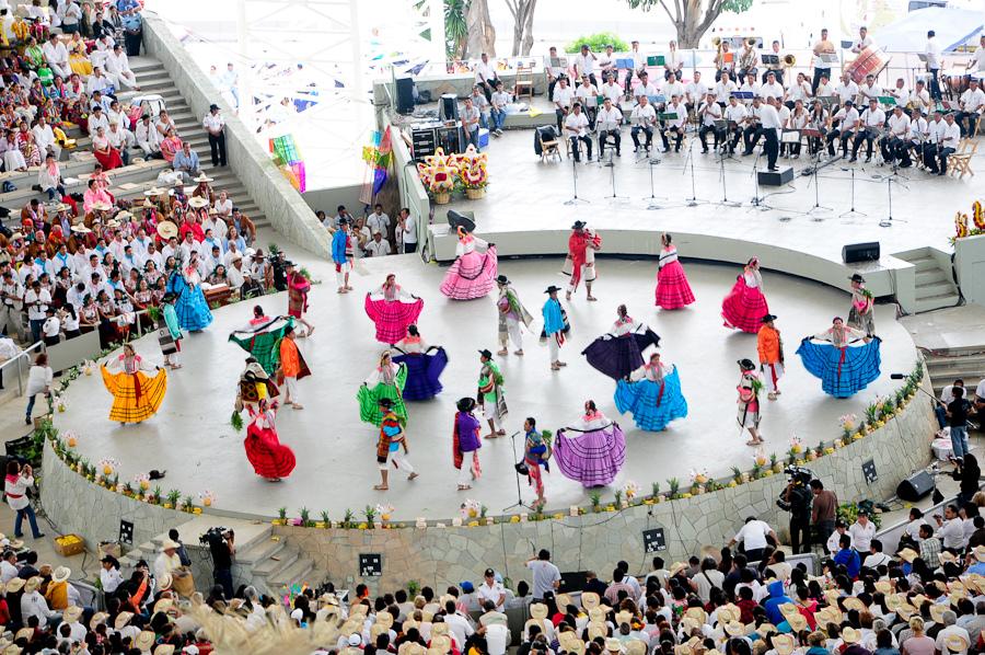Guelaguetza - tautas deju festivāls