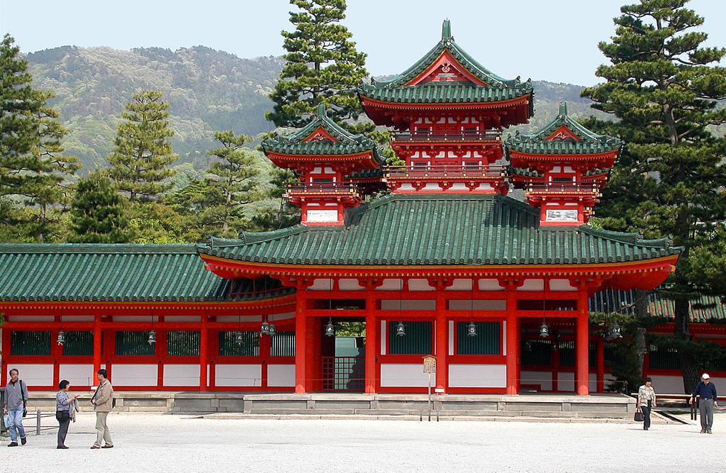 Heian-jingu svētnīca, Kioto