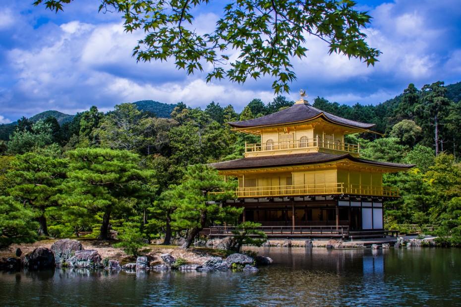 Kinkakuji templis