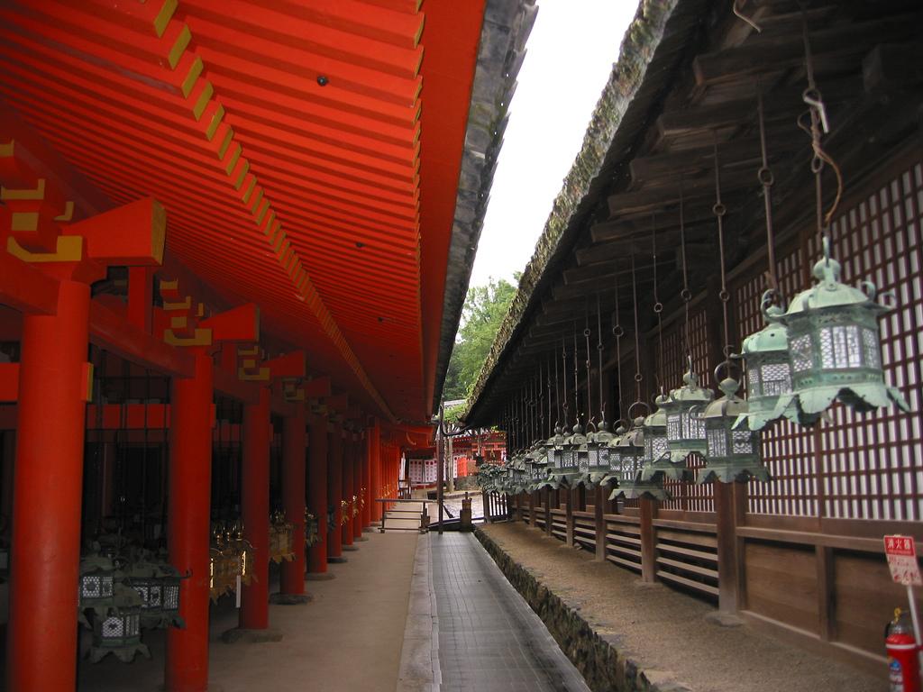 Lukturu svētki Kasuga Shrine svētnīcā, Nara
