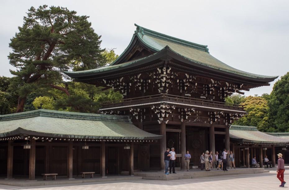 Meiji templis