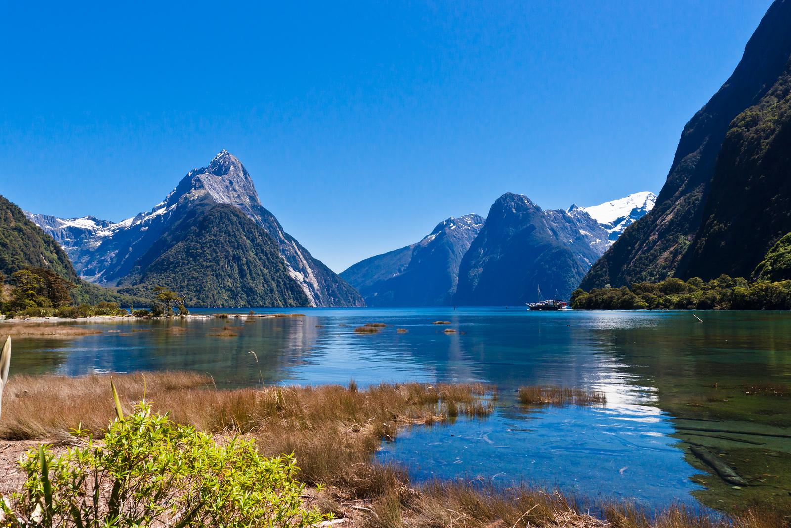 Milfordas fjords, Jaunzēlande