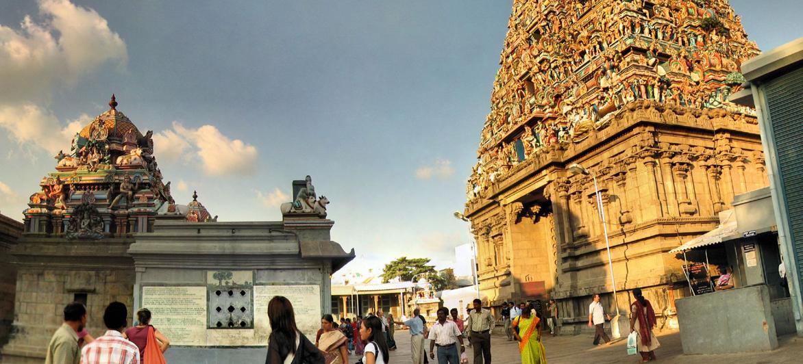 Mylapore templis