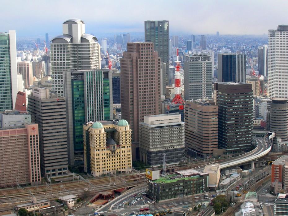 Osaka panorāma