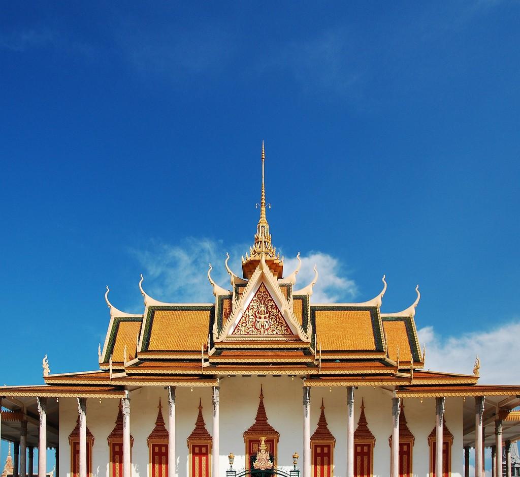 Pnompeņa, karaliska pils