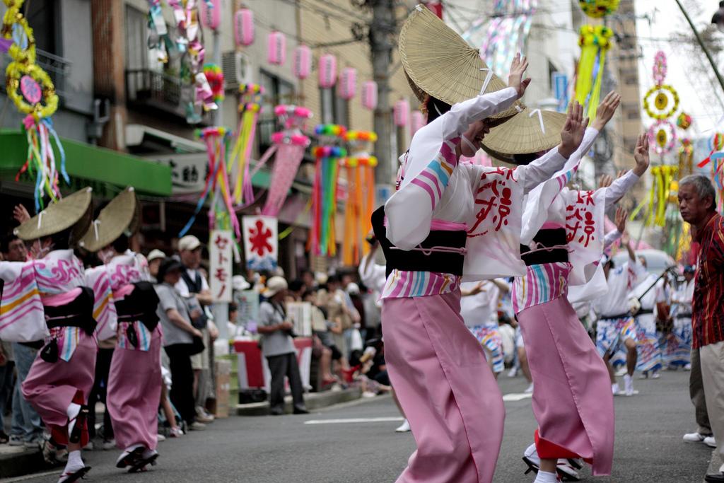Vasaras svētki Tanabata Matsuri, Sendaja