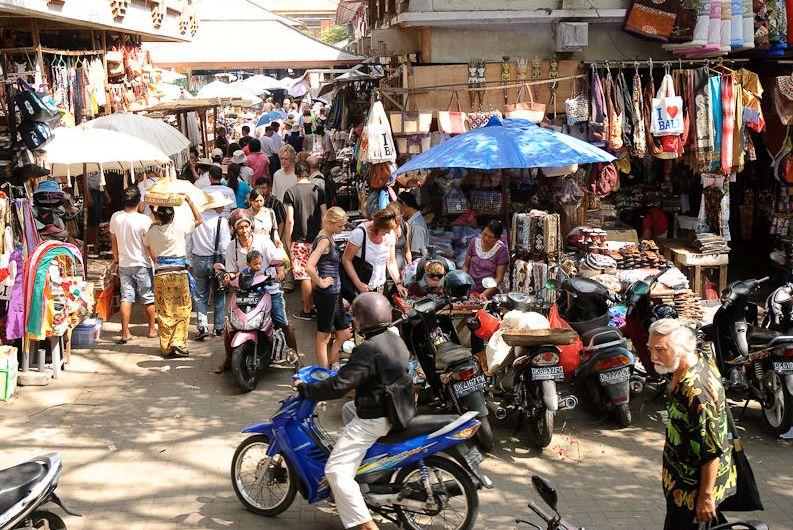 Pasar Ubud tirgus