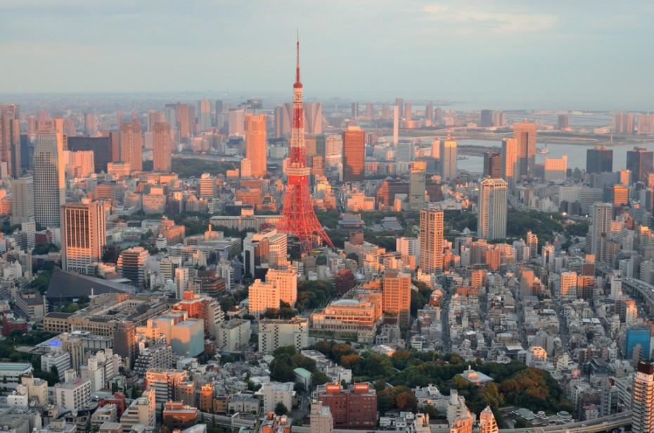 Tokijas panorama