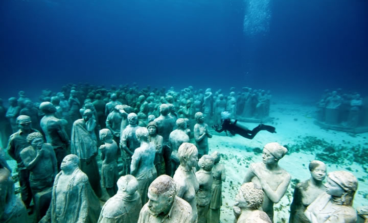 Zemūdens muzejs Kankūnā
